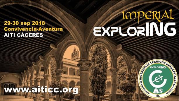 ExplorING IMPERIAL 29-30 Septiembre